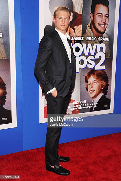 Actor Alexander Ludwig attends the 'Grown Ups 2' New York Premiere at AMC Lincoln Square Theater on July 10 2013 in New York City