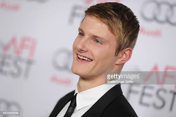 Actor Alexander Ludwig attends the screening of 'Lone Survivor' at AFI FEST 2013 at the TCL Chinese Theatre on November 12 2013 in Hollywood...