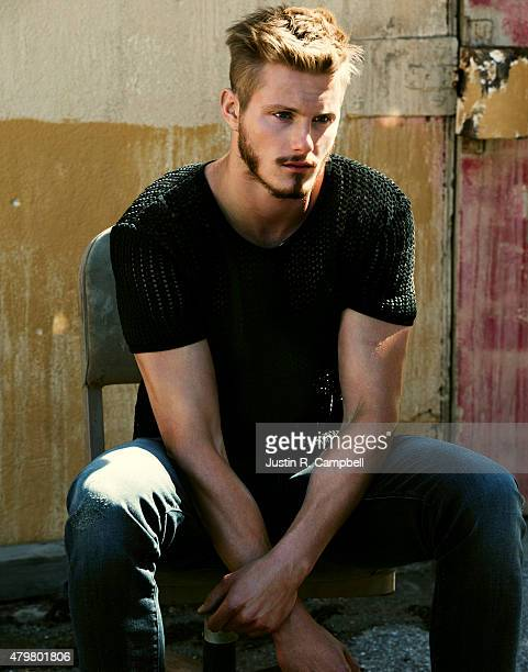 Actor Alexander Ludwig is photographed for Flaunt Magazine on February 24 2015 in Los Angeles California ON DOMESTIC EMBARGO UNTIL AUGUST 1 2015 ON...