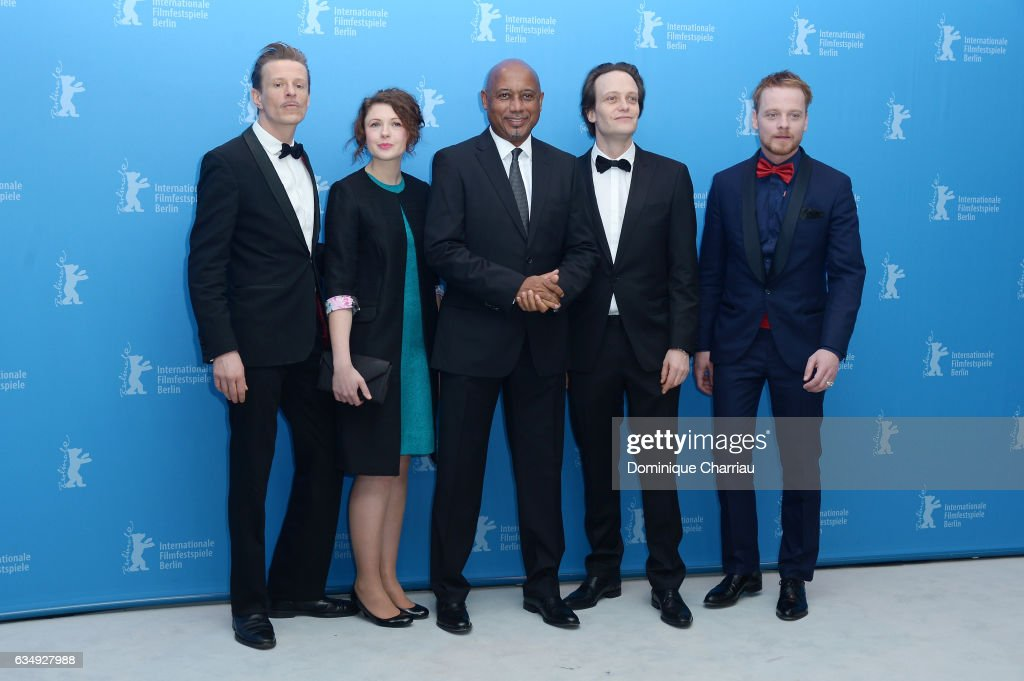 'The Young Karl Marx' Photo Call - 67th Berlinale International Film Festival