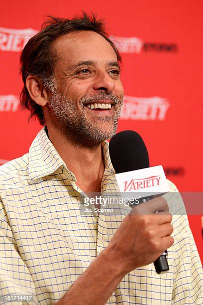 Actor Alexander Siddig attends the Variety Studio presented by Moroccanoil at Holt Renfrew during the 2012 Toronto International Film Festival on...