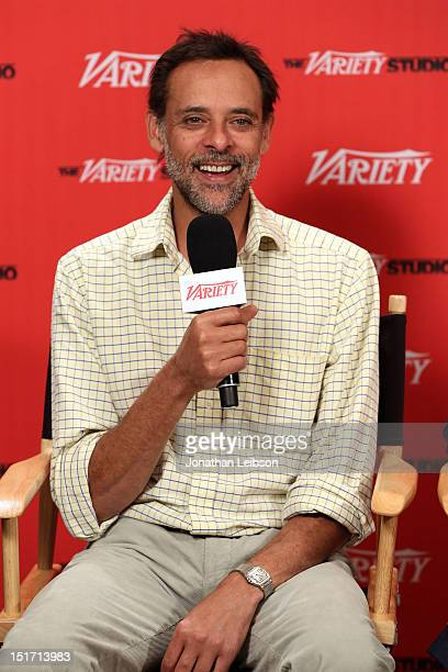 Actor Alexander Siddig attends Variety Studio Presented By Moroccanoil At Holt Renfrew Day 3 Toronto on September 10 2012 in Toronto Canada