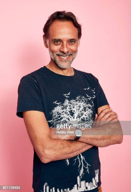Actor Alexander Siddig from FOX's 'Gotham' poses for a portrait during ComicCon 2017 at Hard Rock Hotel San Diego on July 22 2017 in San Diego...