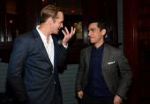 Actor Alexander Skarsgard and director Zal Batmanglij arrive to the after party of Fox Searchlight Pictures' 'The East' presented by Piaget at...