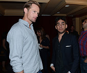 Actor Alexander Skarsgard and director Zal Batmanglij attend the green room photo op for the screening of 'At Any Price' during the 2013 SXSW Music...