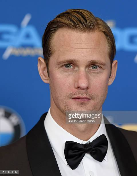 Actor Alexander Skarsgard arrives at the 68th Annual Directors Guild of America Awards at the Hyatt Regency Century Plaza on February 6 2016 in Los...