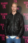 Actor Alexander Skarsgard arrives at the Belvedere IX Launch Party on February 5 2009 in Hollywood California