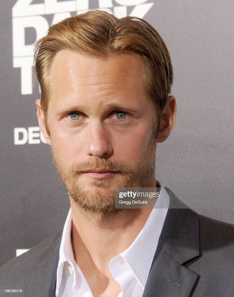 Actor Alexander Skarsgard arrives at the Los Angeles premiere of 'Zero Dark Thirty' at the Dolby Theatre on December 10, 2012 in Hollywood, California.