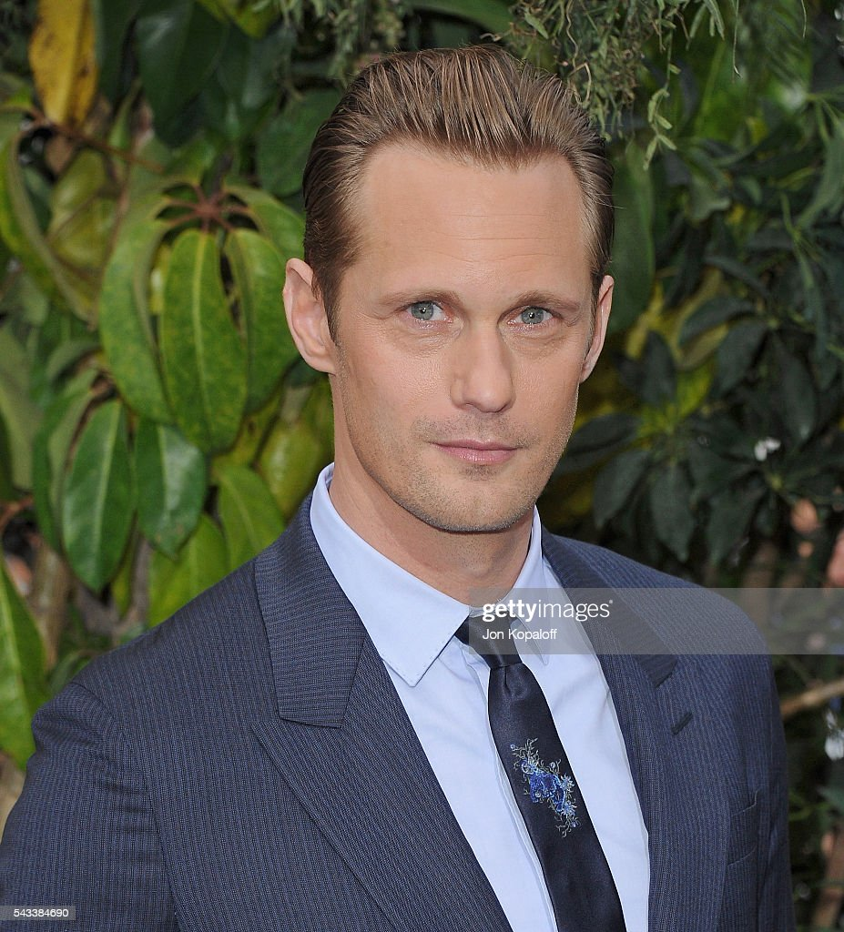 Actor Alexander Skarsgard arrives at the Los Angeles Premiere 'The Legend Of Tarzan' at TCL Chinese Theatre on June 27, 2016 in Hollywood, California.