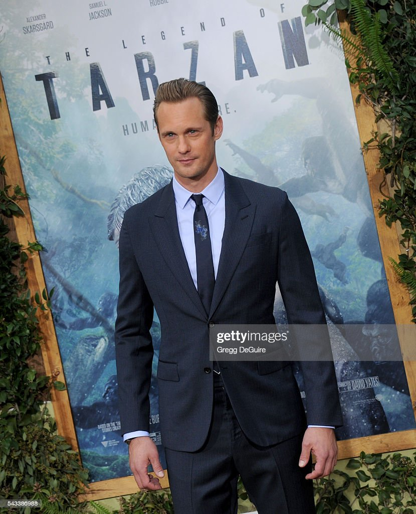 Actor Alexander Skarsgard arrives at the premiere of Warner Bros. Pictures' 'The Legend Of Tarzan' at TCL Chinese Theatre on June 27, 2016 in Hollywood, California.