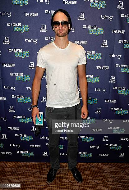 Actor Alexander Skarsgard attends day 3 of WIRED Cafe at ComicCon at Palm Terrace At The Omni Hotel on July 23 2011 in San Diego California