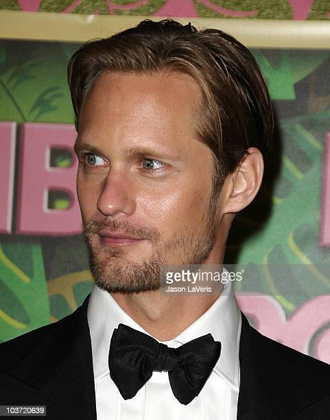 Actor Alexander Skarsgard attends HBO's post Emmy Awards party at Pacific Design Center on August 29 2010 in West Hollywood California