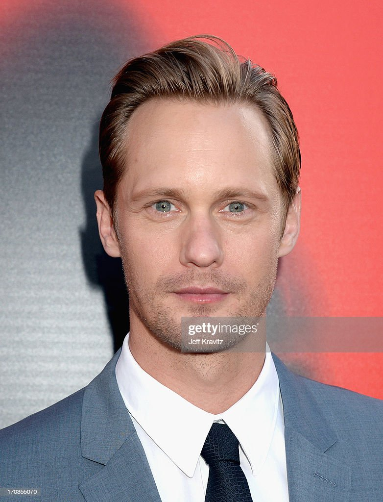 Actor Alexander Skarsgard attends HBO's 'True Blood' season 6 premiere at ArcLight Cinemas Cinerama Dome on June 11, 2013 in Hollywood, California.