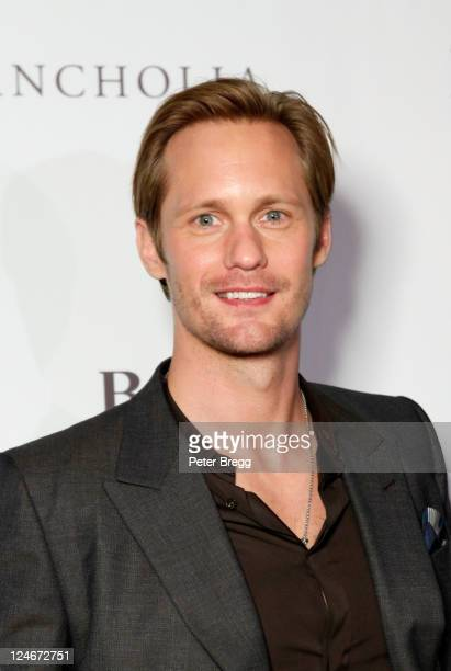 Actor Alexander Skarsgard attends Hugo Boss / GQ Party at The 2011 Toronto International Film Festival at Hugo Boss Store on September 10 2011 in...