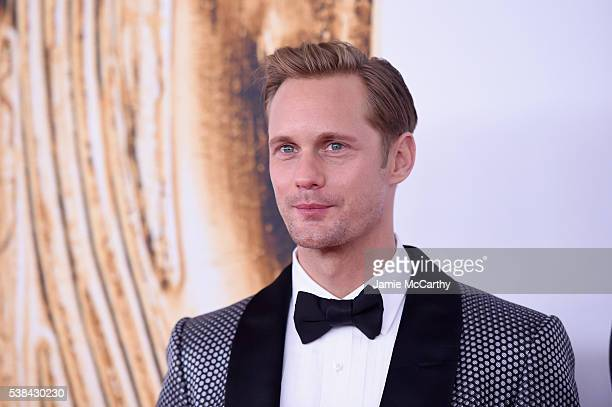 Actor Alexander Skarsgard attends the 2016 CFDA Fashion Awards at the Hammerstein Ballroom on June 6 2016 in New York City