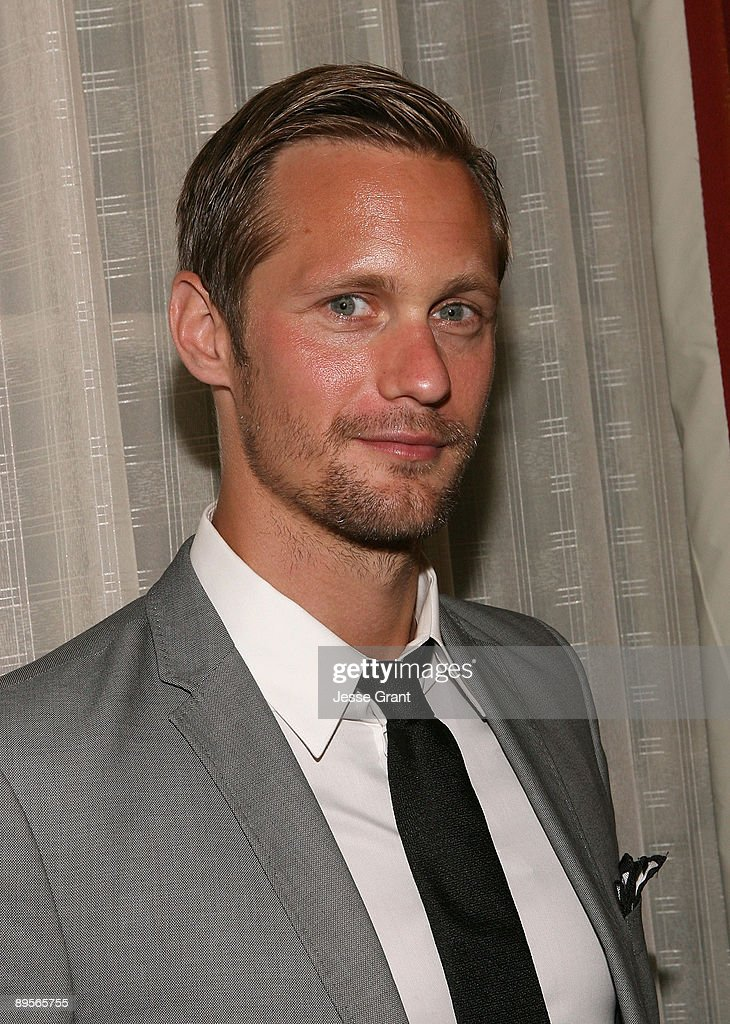 Actor Alexander Skarsgard attends the 25th Annual Television Critics Association Awards Cocktail Reception at The Langham Resort on August 1 2009 in...