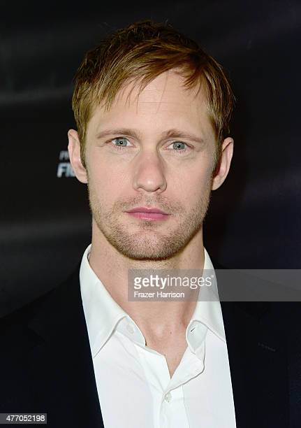 Actor Alexander Skarsgard attends the 'Diary of a Teenage Girl' screening during the 2015 Los Angeles Film Festival at Regal Cinemas LA Live on June...