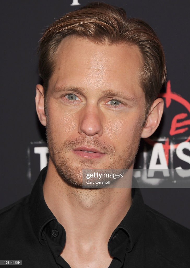 Actor Alexander Skarsgard attends 'The East' premiere at Landmark's Sunshine Cinema on May 20, 2013 in New York City.