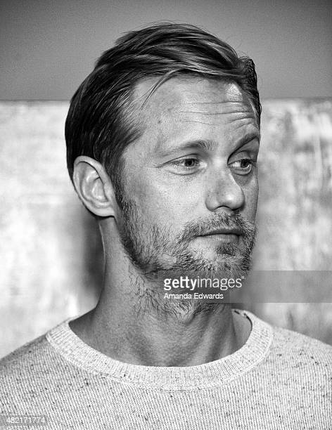 Actor Alexander Skarsgard attends the Los Angeles Times Indie Focus Screening of 'The Diary Of A Teenage Girl' at the Sundance Sunset Cinema on July...