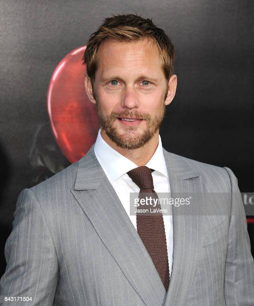 Actor Alexander Skarsgard attends the premiere of 'It' at TCL Chinese Theatre on September 5 2017 in Hollywood California