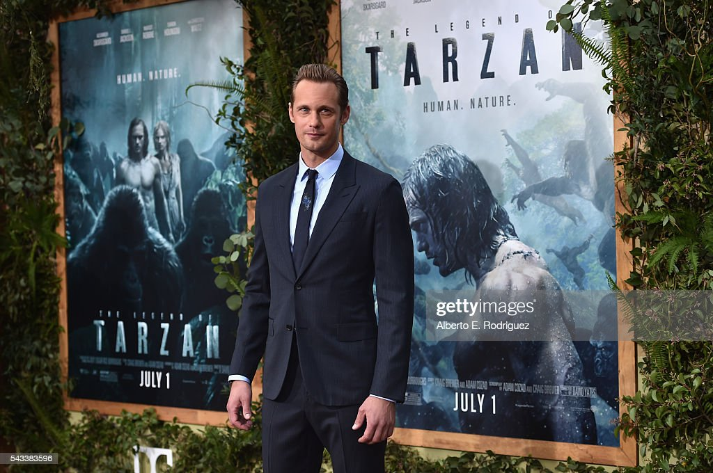 Actor Alexander Skarsgard attends the premiere of Warner Bros. Pictures' 'The Legend of Tarzan' at Dolby Theatre on June 27, 2016 in Hollywood, California.