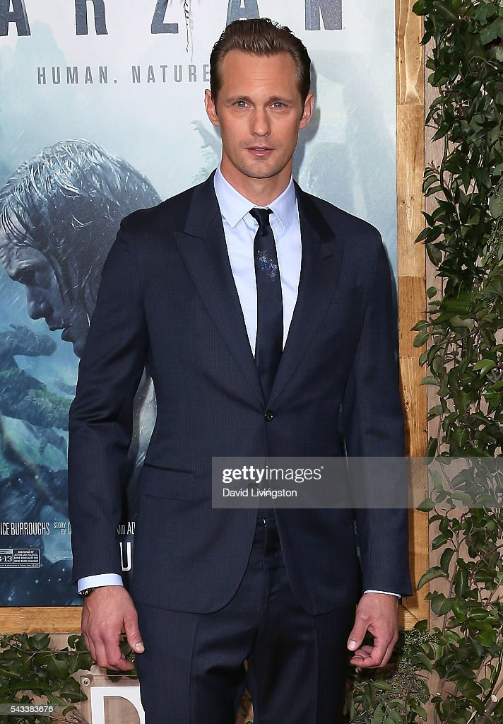 Actor Alexander Skarsgard attends the premiere of Warner Bros. Pictures' 'The Legend of Tarzan' at the Dolby Theatre on June 27, 2016 in Hollywood, California.