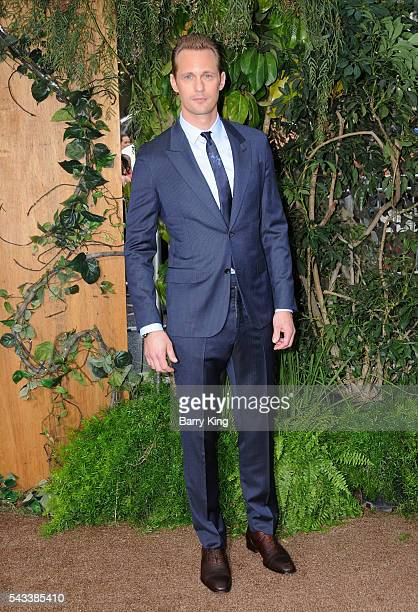 Actor Alexander Skarsgard attends the premiere of Warner Bros Pictures' 'The Legend Of Tarzan' at Dolby Theatre on June 27 2016 in Hollywood...