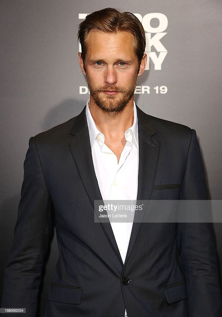 Actor Alexander Skarsgard attends the premiere of 'Zero Dark Thirty' at the Dolby Theatre on December 10, 2012 in Hollywood, California.