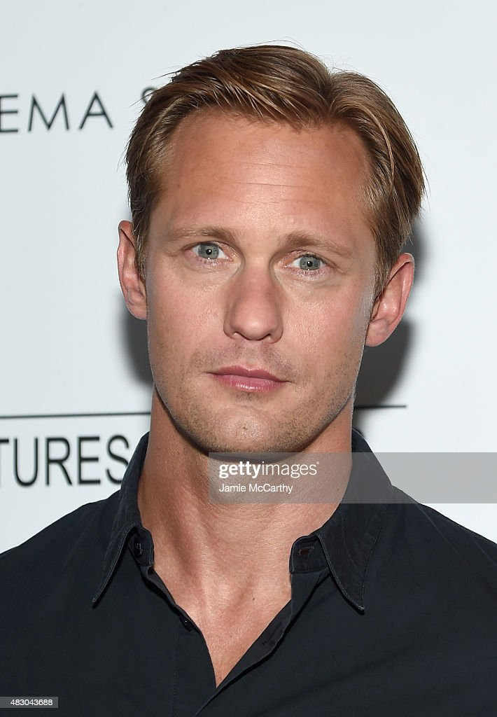Actor Alexander Skarsgard attends the screening of Sony Pictures Classics 'The Diary Of A Teenage Girl' hosted by The Cinema Society at Landmark Sunshine Cinema on August 5, 2015 in New York City.