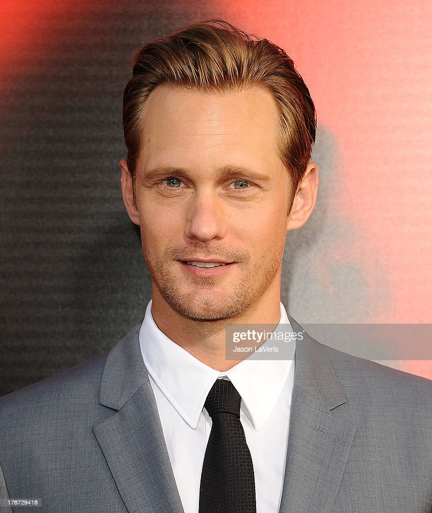 Actor Alexander Skarsgard attends the season 6 premiere of HBO's 'True Blood' at ArcLight Cinemas Cinerama Dome on June 11 2013 in Hollywood...