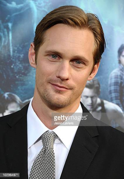 Actor Alexander Skarsgard attends the third season premiere of HBO's 'True Blood' at ArcLight Cinemas Cinerama Dome on June 8 2010 in Hollywood...
