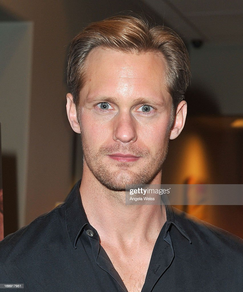 Actor Alexander Skarsgard attends the LA Times Indie Focus Screening of 'What Masie Knew' at Laemmle NoHo 7 on May 16, 2013 in North Hollywood, California.