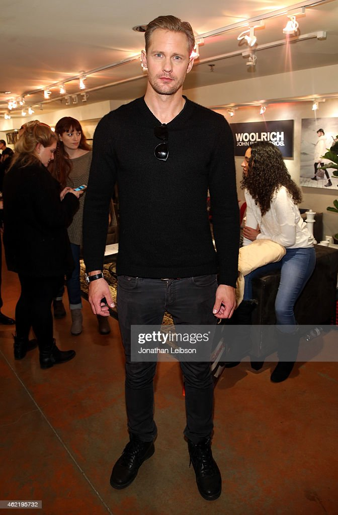 Actor Alexander Skarsgard attends The Variety Studio At Sundance Presented By Dockers on January 25 2015 in Park City Utah