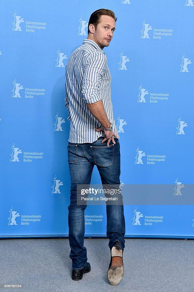 Actor Alexander Skarsgard attends the 'War On Everyone' photo call during the 66th Berlinale International Film Festival Berlin at Grand Hyatt Hotel...