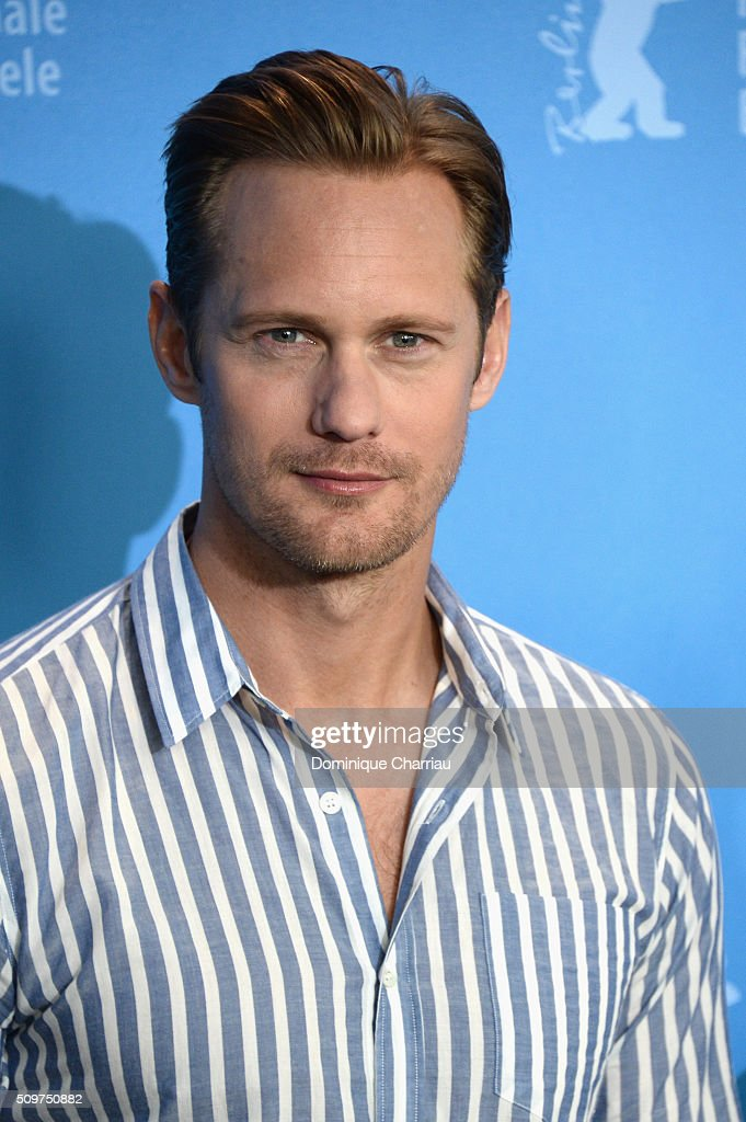 Actor <a gi-track='captionPersonalityLinkClicked' href=/galleries/search?phrase=Alexander+Skarsgard&family=editorial&specificpeople=2483508 ng-click='$event.stopPropagation()'>Alexander Skarsgard</a> attends the 'War On Everyone' photo call during the 66th Berlinale International Film Festival Berlin at Grand Hyatt Hotel on February 12, 2016 in Berlin, Germany.