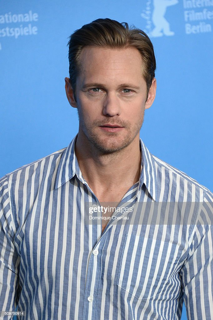 Actor Alexander Skarsgard attends the 'War On Everyone' photo call during the 66th Berlinale International Film Festival Berlin at Grand Hyatt Hotel on February 12, 2016 in Berlin, Germany.