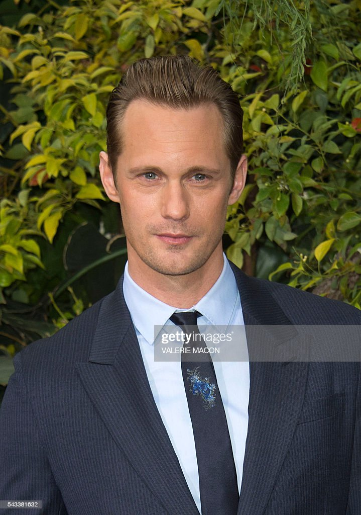 Actor Alexander Skarsgard attends the world premiere of 'The Legend of Tarzan' in Hollywood, California, on June 27, 2016. / AFP / VALERIE