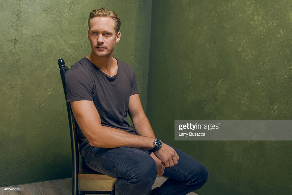 Actor Alexander Skarsgard from 'The Diary of a Teenage Girl' poses for a portrait at the Village at the Lift Presented by McDonald's McCafe during...