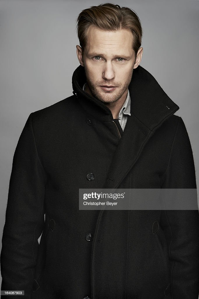 Actor Alexander Skarsgard is photographed at the Sundance Film Festival for Entertainment Weekly Magazine on February 8, 2013 in Park City, Utah. ON