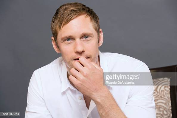 Actor Alexander Skarsgard of 'Diary of a Teenage Girl' is photographed for Los Angeles Times on June 12 2015 in Los Angeles California PUBLISHED...