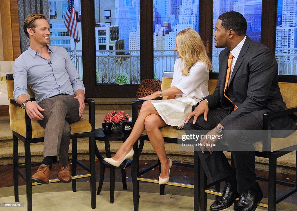 "MICHAEL 4/9/13 Actor ALEXANDER SKARSGÅRD speaks about the film ""Disconnect"" on 'LIVE with Kelly and Michael' distributed by DisneyABC Domestic..."