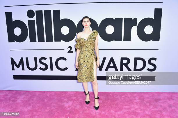 Actor Alexandra Daddario attends the 2017 Billboard Music Awards at TMobile Arena on May 21 2017 in Las Vegas Nevada