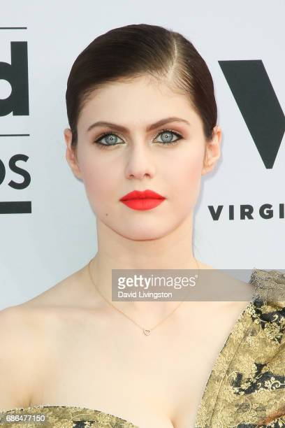 Actor Alexandra Daddario attends the 2017 Billboard Music Awards at the TMobile Arena on May 21 2017 in Las Vegas Nevada
