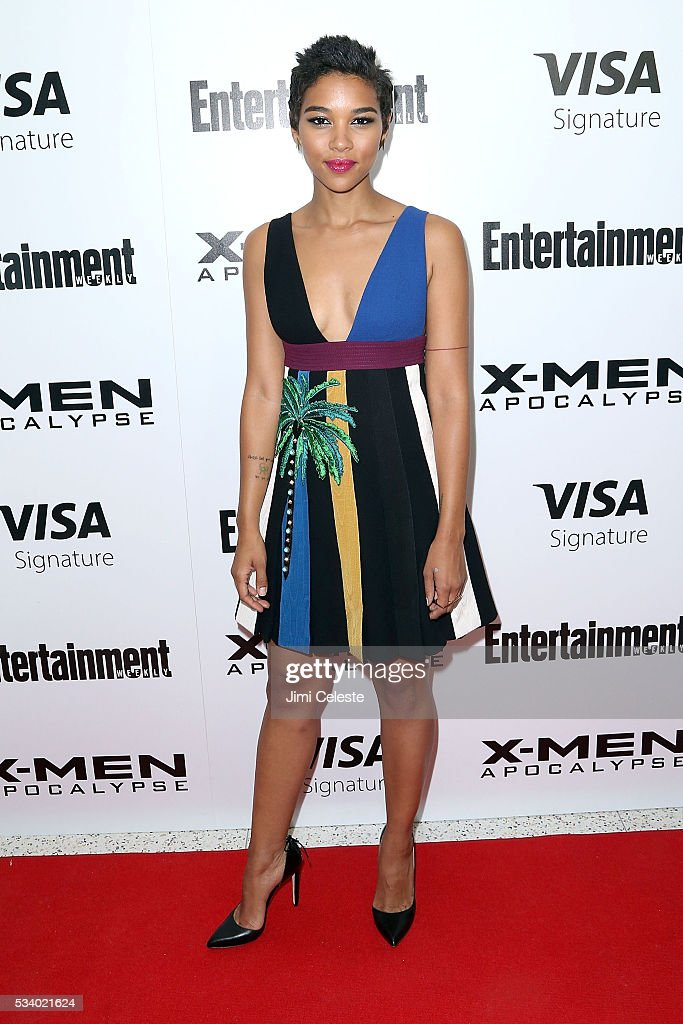 Actor <a gi-track='captionPersonalityLinkClicked' href=/galleries/search?phrase=Alexandra+Shipp&family=editorial&specificpeople=10012876 ng-click='$event.stopPropagation()'>Alexandra Shipp</a> attends the special screening of 'X-MEN Apocalypse' at Entertainment Weekly on May 24, 2016 in New York City.