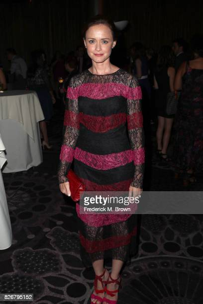 Actor Alexis Bledel at the 33rd Annual Television Critics Association Awards during the 2017 Summer TCA Tour at The Beverly Hilton Hotel on August 5...