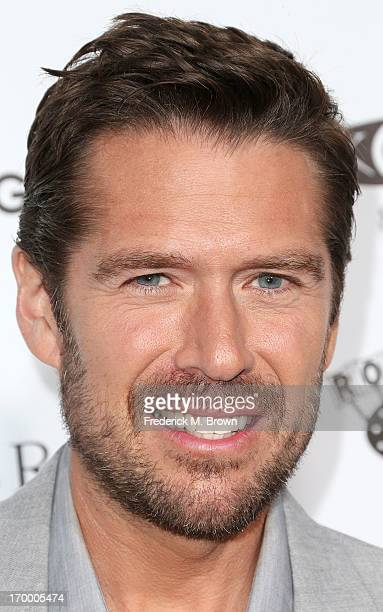 Actor Alexis Denisof attends the screening of Lionsgate and Roadside Attractions' 'Much Ado About Nothing' at Oscar's Outdoors Hollywood theater on...