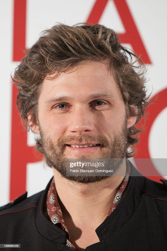 Actor Alexis Michalik attends 'La Banda Picasso' Premiere at Capitol Cinema on January 24, 2013 in Madrid, Spain.