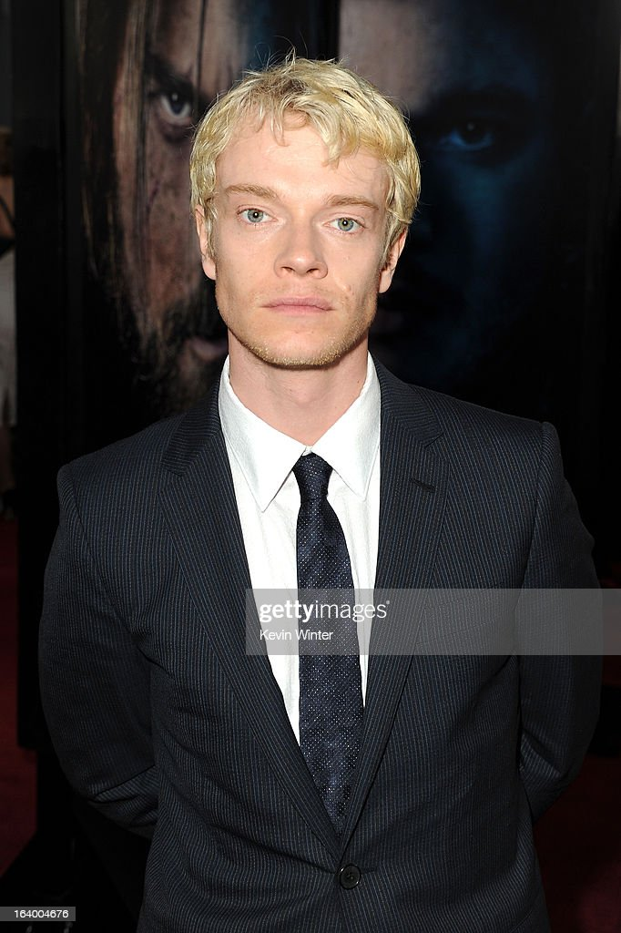Actor Alfie Allen arrives at the premiere of HBO's 'Game Of Thrones' Season 3 at TCL Chinese Theatre on March 18, 2013 in Hollywood, California.