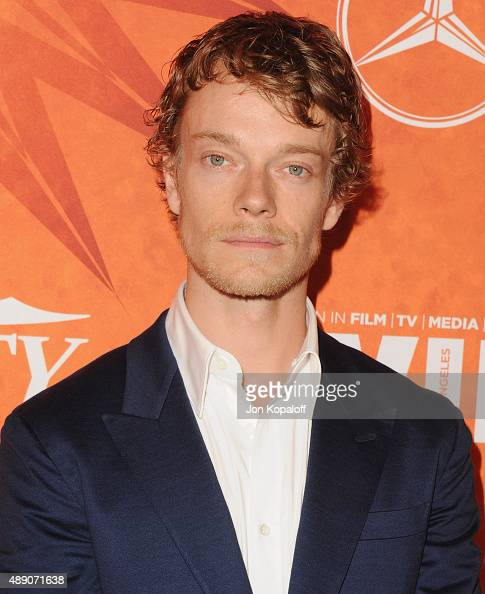 Actor Alfie Allen arrives at the Variety And Women In Film Annual PreEmmy Celebration at Gracias Madre on September 18 2015 in West Hollywood...
