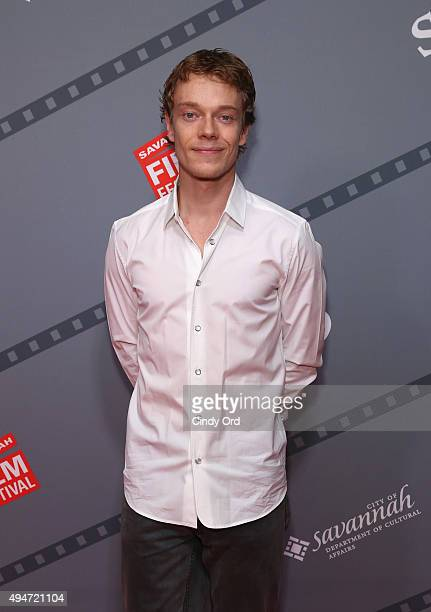 Actor Alfie Allen attends Alfie Allen Rising Star Award Presentation during Day Four of 18th Annual Savannah Film Festival Presented By SCAD at...